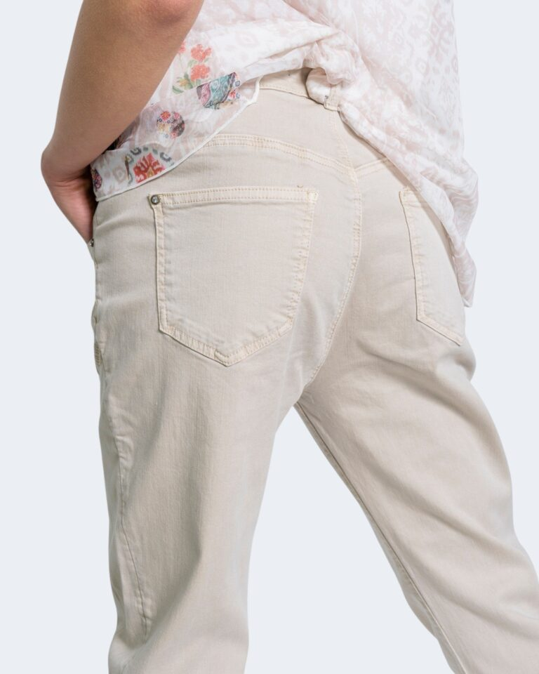 Jeans larghi Desigual KIM Beige - Foto 4
