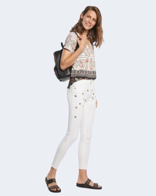 Jeans skinny Desigual AUSTRIA Bianco – 65265