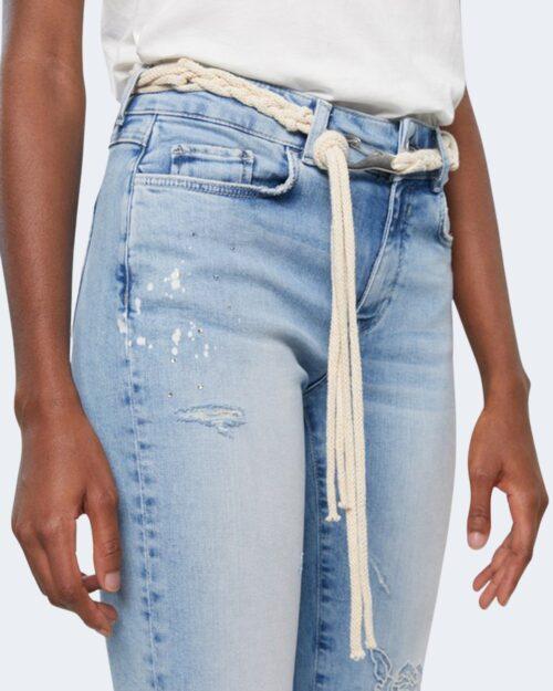 Jeans mom Desigual PONDI Denim chiaro – 65269