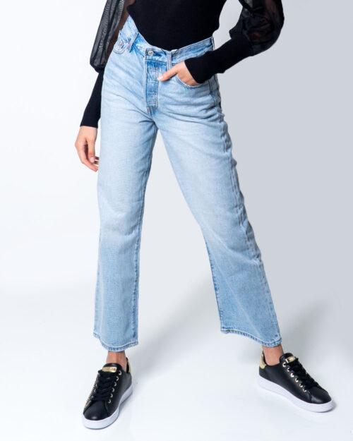 Jeans mom Levi's® Ribcage Straigth Ankle Denim chiaro – 52017