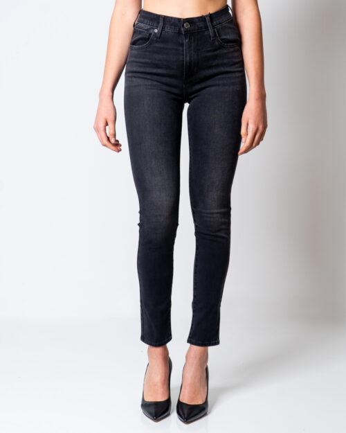 Jeans skinny Levi's® 721 High Rise Skinny Nero – 45478