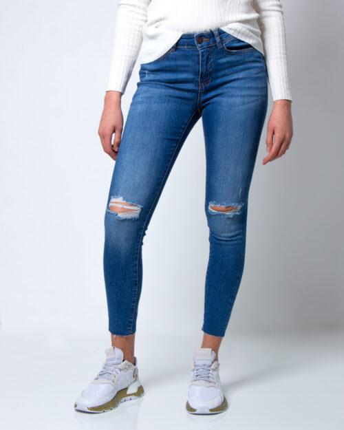 Jeans skinny Noisy May Lucy Nw Skinny Ank AZ087MB Noos Blue Denim – 42355