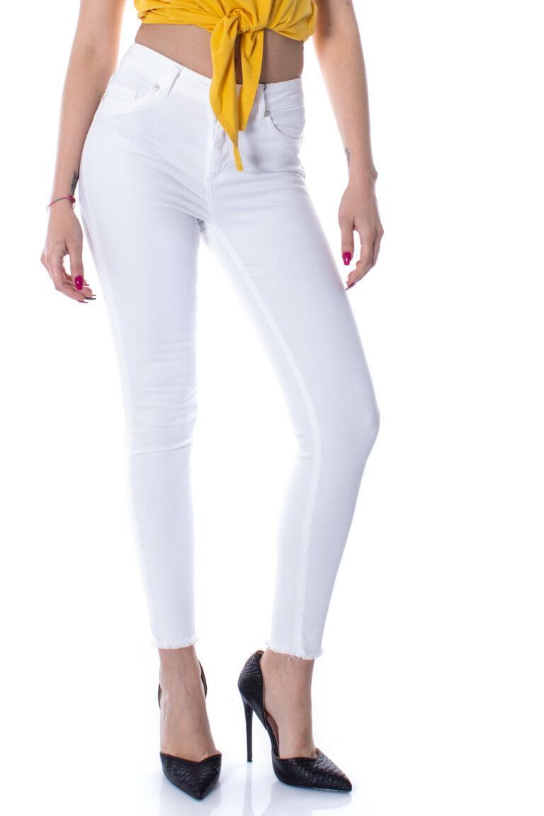 Jeans skinny Only Blush Bianco - Foto 1