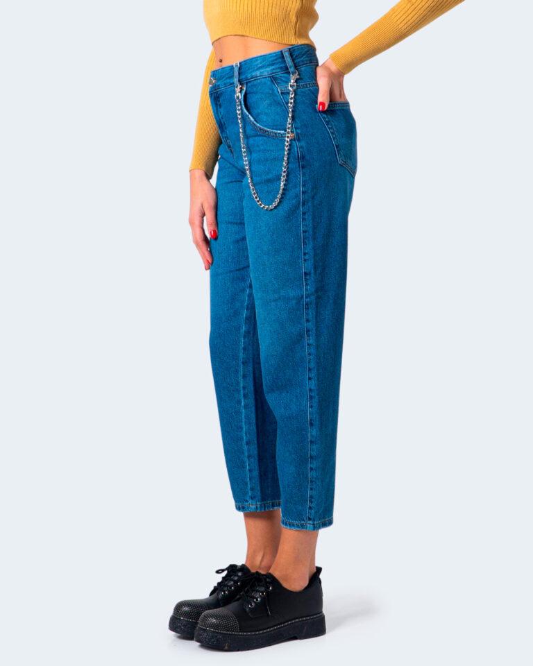 Jeans mom Only TROY LIFE HW MB CARROT Blue Denim - Foto 3