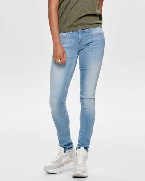 Jeans skinny Only Coral Life Sl Sk Cre185063 Noos Blue Denim Chiaro – 42481