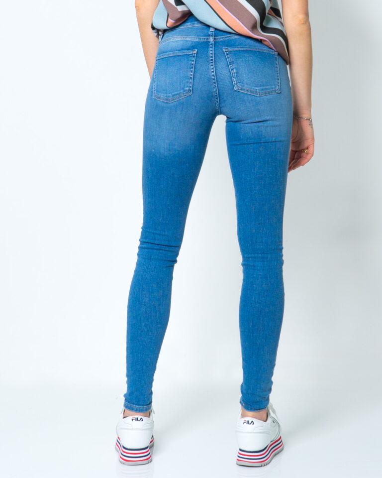 Jeans skinny Only SHAPE REG SK DNM JEANS REA088 Blue Denim Chiaro - Foto 3