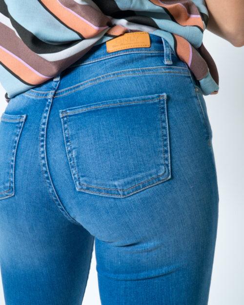 Jeans skinny Only SHAPE REG SK DNM JEANS REA088 Blue Denim Chiaro - Foto 4