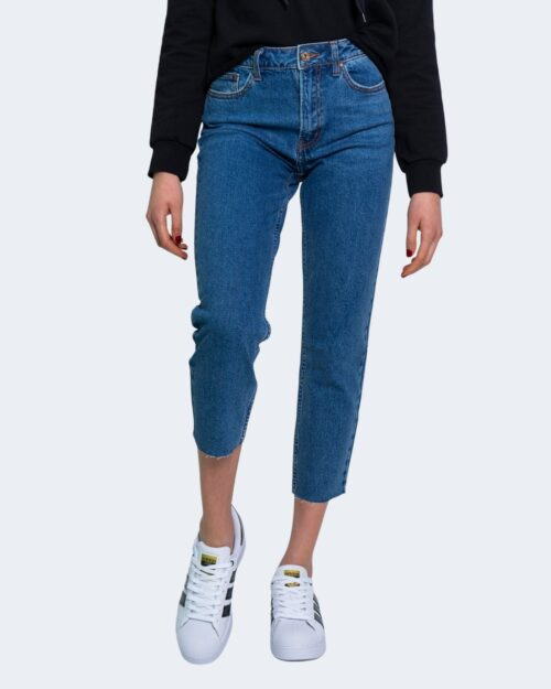 Jeans mom Only Emily Blue Denim Scuro – 29214