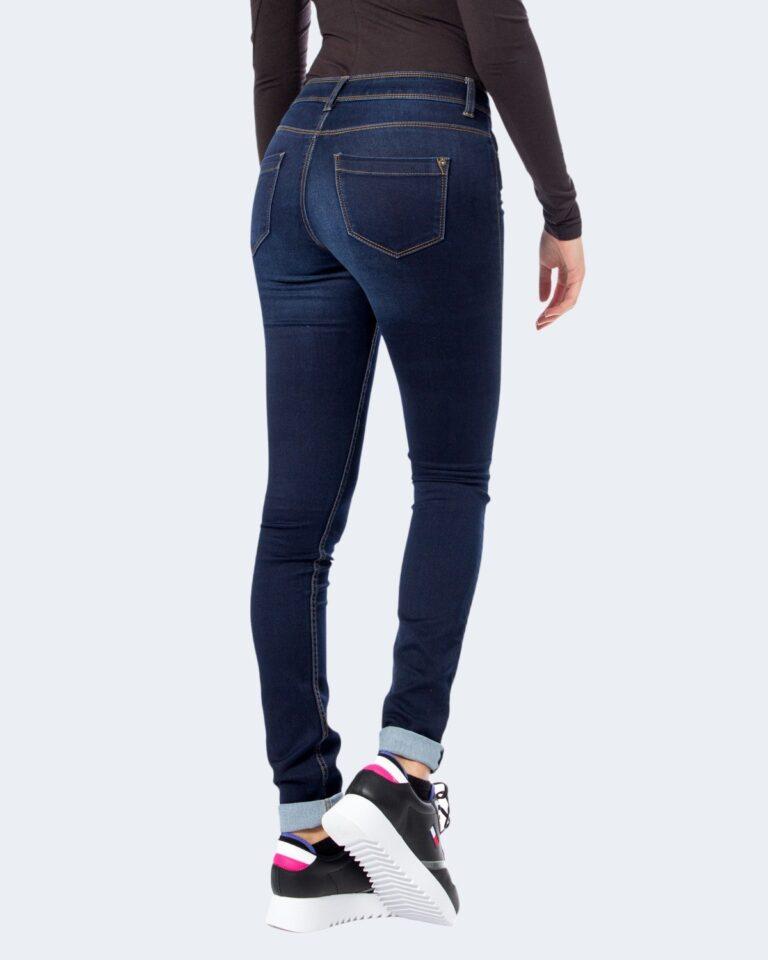 Jeans slim Only 15077791 Blue Denim Scuro - Foto 2