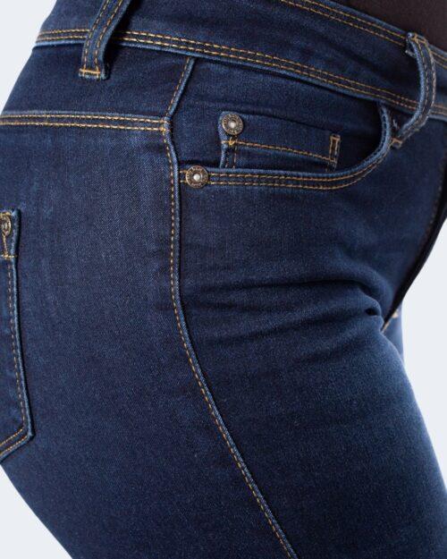 Jeans slim Only 15077791 Blue Denim Scuro - Foto 3