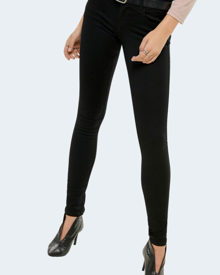Jeans skinny Only ULTIMATE Nero - Foto 3