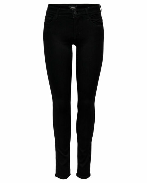 Jeans skinny Only ULTIMATE Nero - Foto 4
