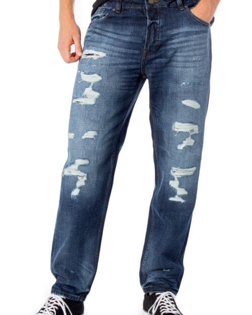 Jeans Tapered Only & Sons AVI DESTROY  BLUE DCC 4117 Blue Denim – 34450