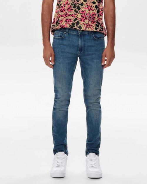 Jeans slim Only & Sons Warp Blue Denim – 52416