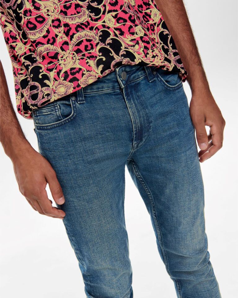 Jeans slim Only & Sons Warp Blue Denim - Foto 3