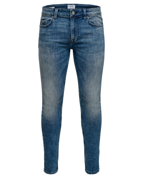 Jeans slim Only & Sons Warp Blue Denim - Foto 4