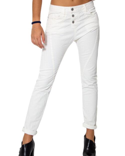Pantaloni Please P78ADR7M07 BASIC Bianco - Foto 1