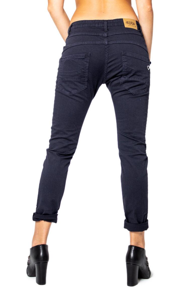 Pantaloni Please P78ADR7M07 BASIC Blue scuro - Foto 2
