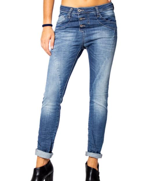 Jeans baggy Please P78 BOYFRIEND BAGGY BASSO Denim - Foto 1