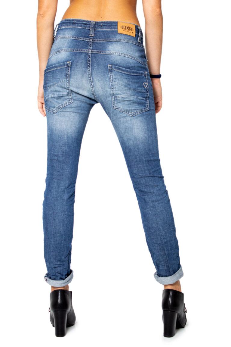 Jeans baggy Please P78 BOYFRIEND BAGGY BASSO Denim - Foto 2