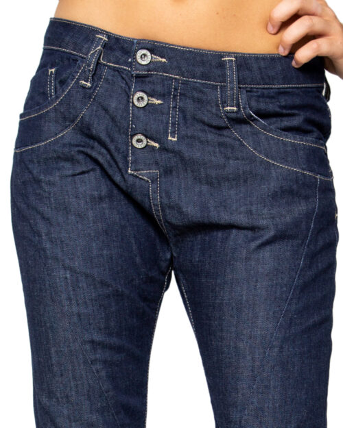Jeans baggy Please P78 Denim scuro – 5755