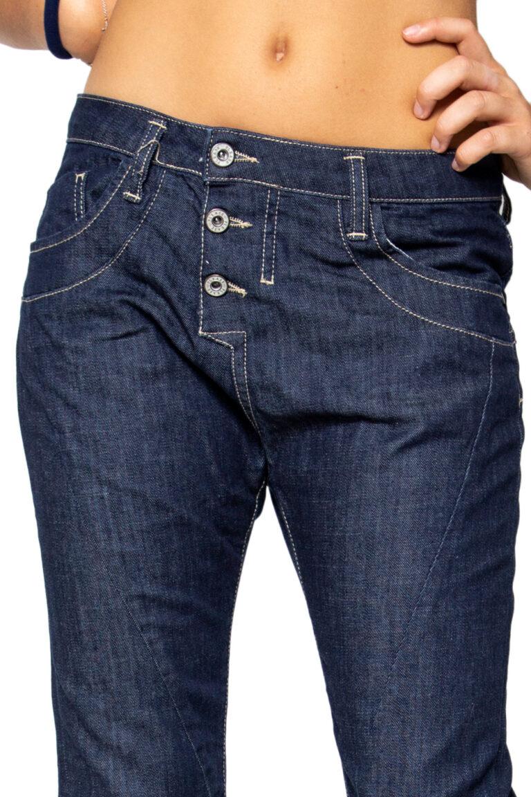 Jeans baggy Please P78 Denim scuro - Foto 2
