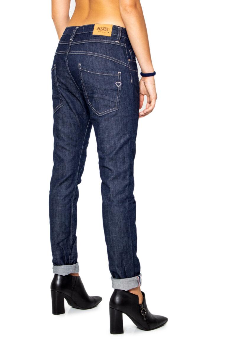 Jeans baggy Please P78 Denim scuro - Foto 3