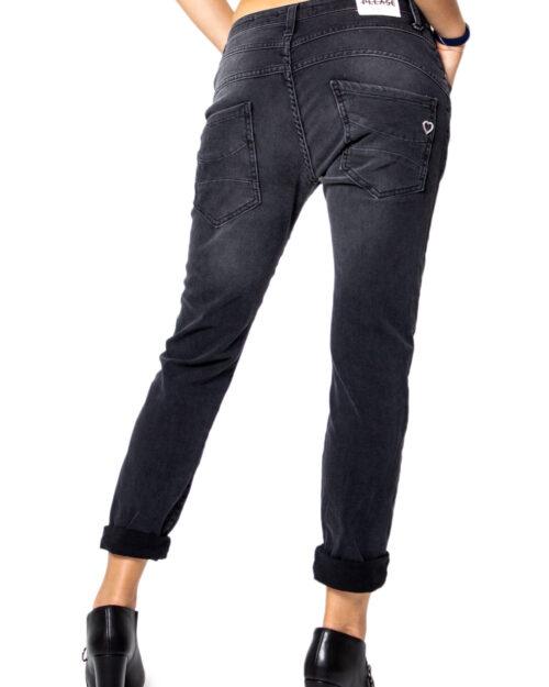 Jeans baggy Please P78 PN7 BAGGY Nero – 21809