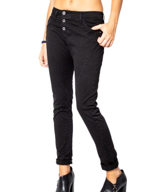 Pantaloni Please P78ADR7M07 BASIC Nero - Foto 2