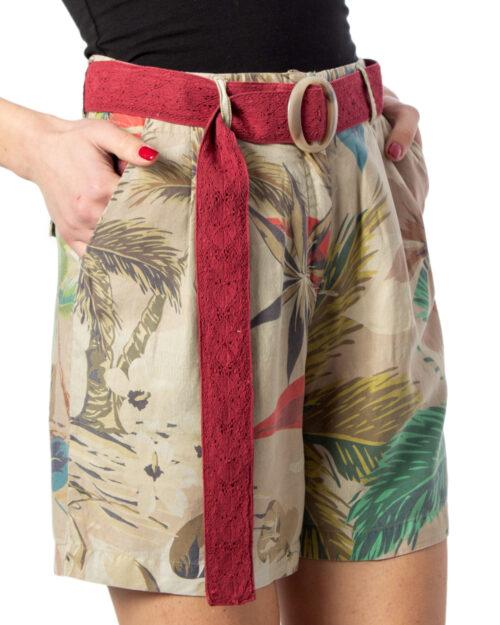 Shorts Desigual PANT PEARL HARBOUR Beige – 39586