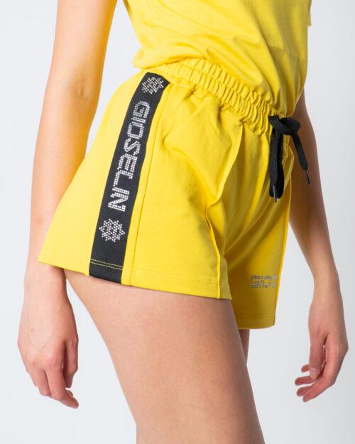 Shorts Gioselin CON STRASS Giallo – 51858