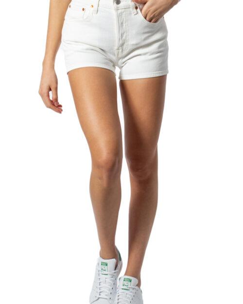 Shorts Levi's® 501 HIGH RISE SHORT Bianco – 39559