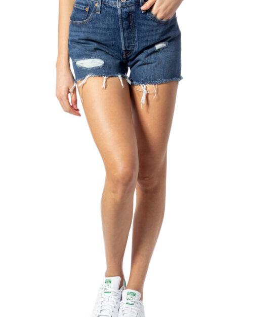 Shorts Levi's® 501 HIGH RISE SHORT Denim – 27805