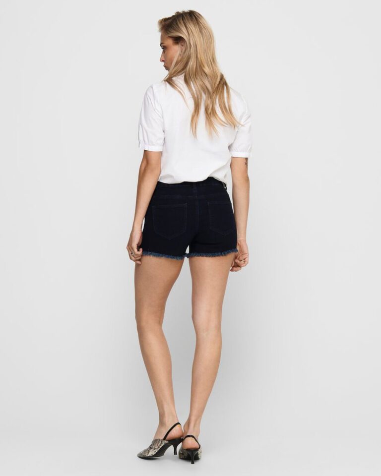Shorts Only SUN REG SHORTS BB PIM9017 Blue Denim Scuro - Foto 2
