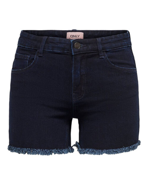 Shorts Only SUN REG SHORTS BB PIM9017 Blue Denim Scuro - Foto 4