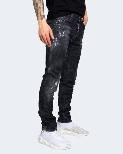 Jeans slim Dsquared2 GUY JEAN Nero – 69319