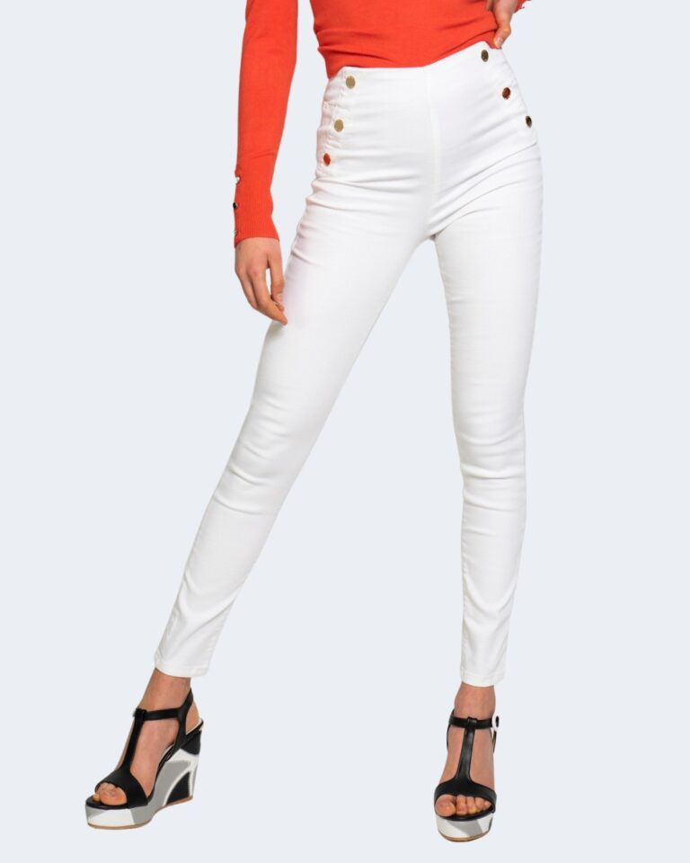 Jeans skinny Guess ultra curve high button Bianco - Foto 1