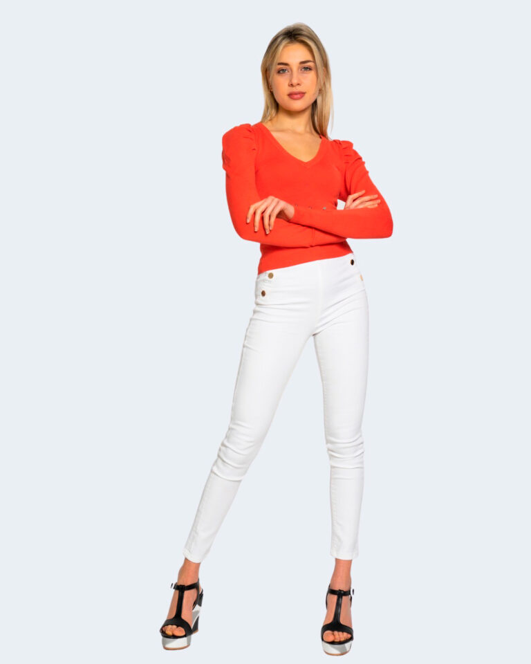 Jeans skinny Guess ultra curve high button Bianco - Foto 2