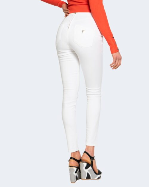 Jeans skinny Guess ultra curve high button Bianco - Foto 3