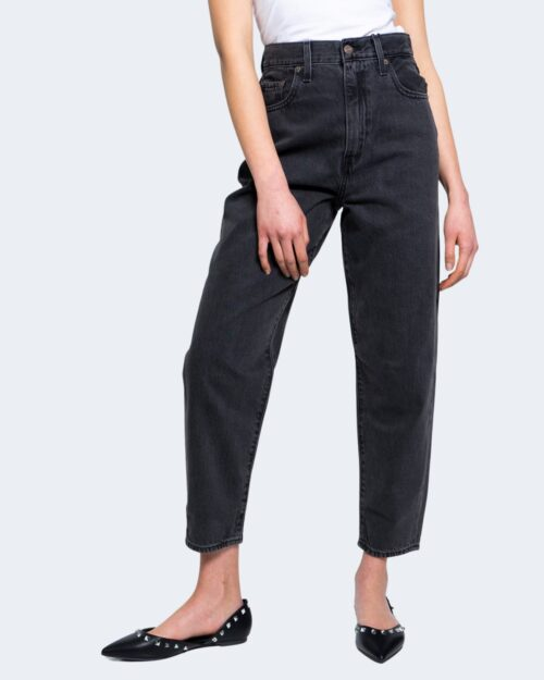 Jeans Levi's® HIGH LOOSE TAPER Nero – 65235