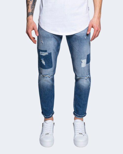 Jeans skinny Antony Morato ARGON SLIM ANKLE LENGHT  MMDT00251 W01334 – FA750302 Blue Denim – 63521