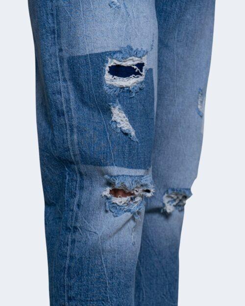Jeans Tapered Antony Morato ARGON Blue Denim - Foto 4