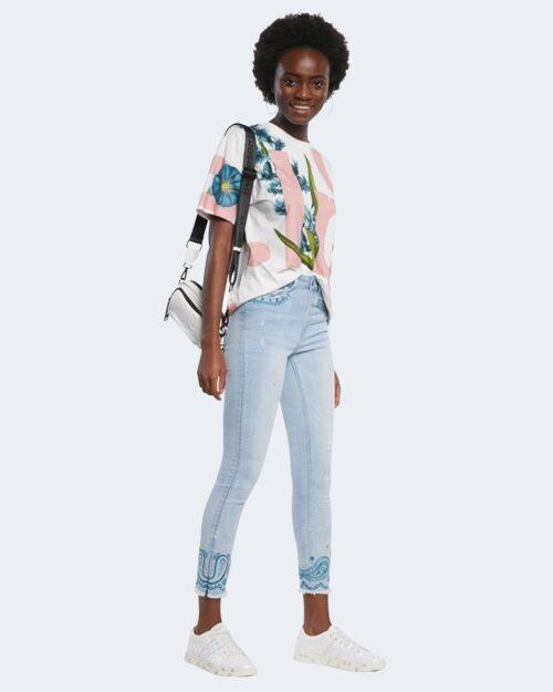 Jeans skinny Desigual ANKLE PAISLEY Denim chiaro – 66339