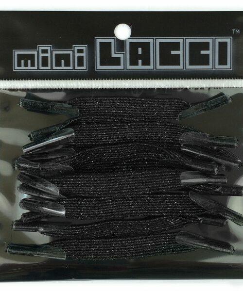 Lacci Mini Lacci MINI LACCI GLITTER Nero – 28004