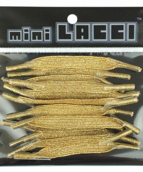 Lacci Mini Lacci MINI LACCI GLITTER Oro – 28004