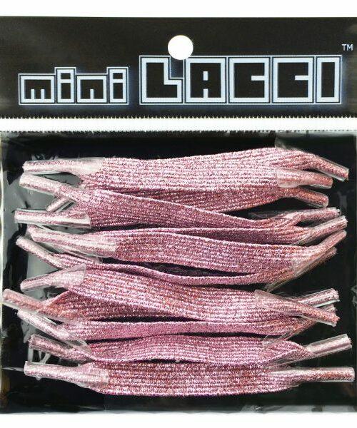 Lacci Mini Lacci MINI LACCI GLITTER Rosa – 28004