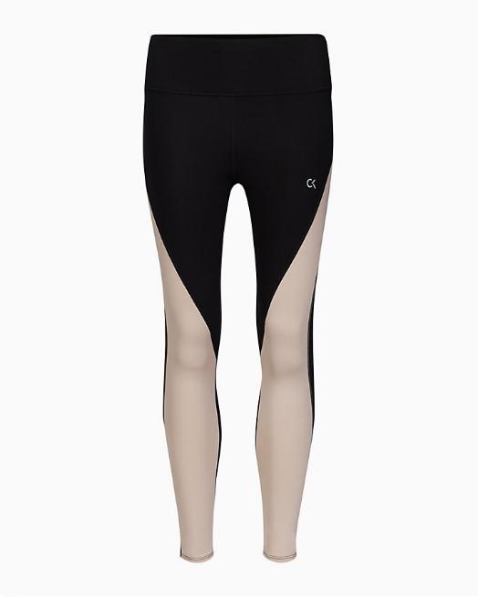 Leggings Calvin Klein Performance 7/8 Tight Nero - Foto 4