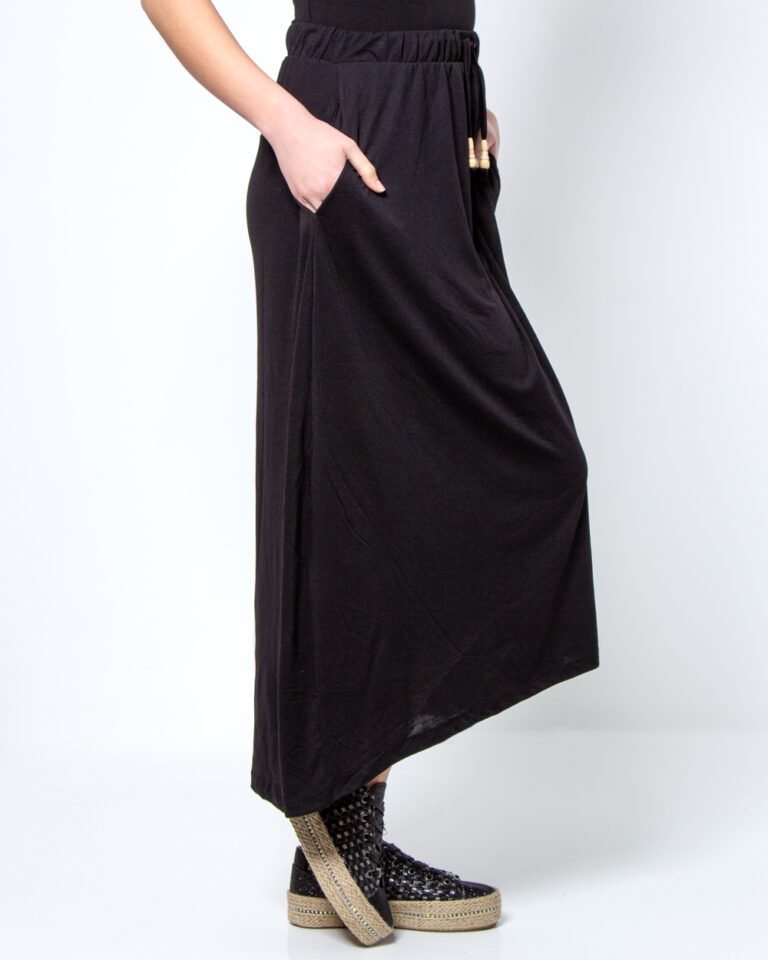 Longuette Jacqueline de Yong DALILA FROSTY LONG SKIRT JRS Nero - Foto 2