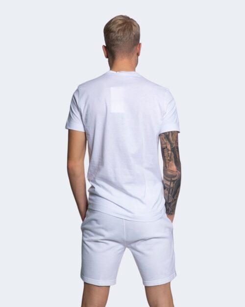 T-shirt Calvin Klein Jeans MICRO BRANDING Bianco - Foto 3