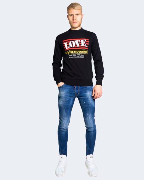 Maglia Love Moschino LOGO LOVE Nero – 56095